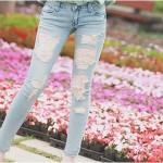 Jeans Rasgado: Ele voltou